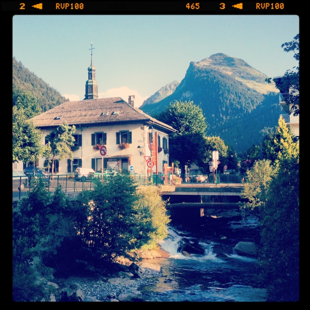 Morzine and its river
