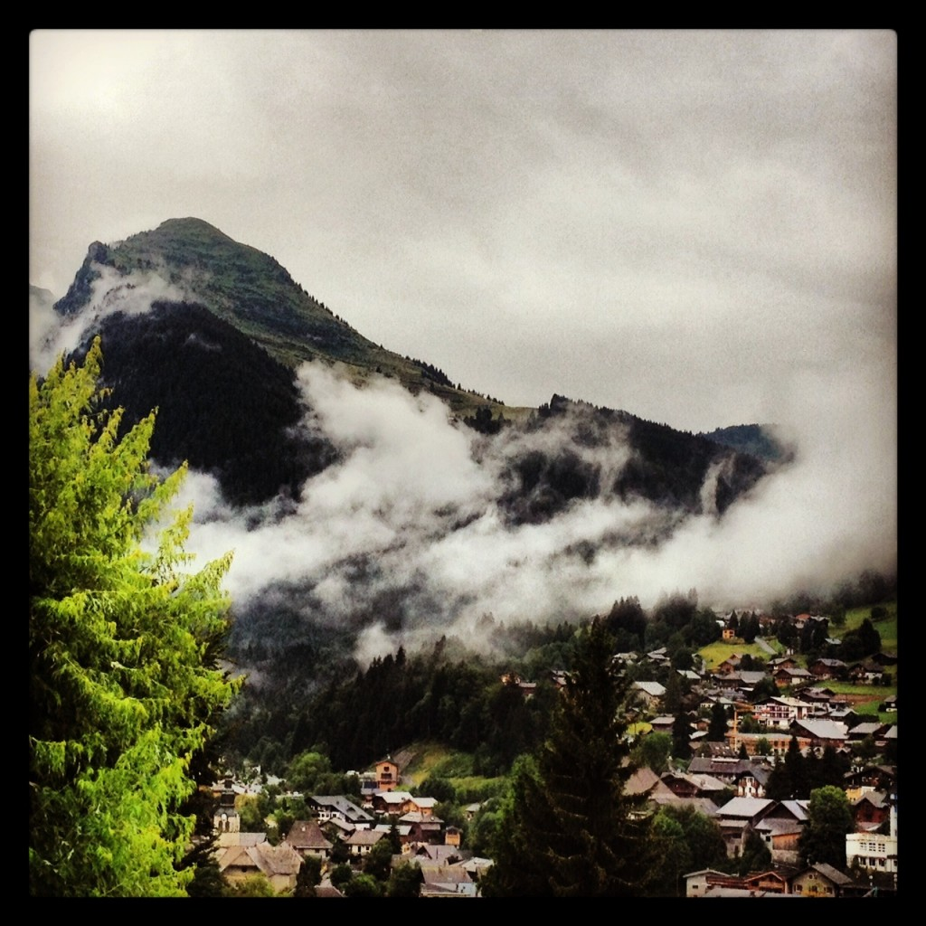 Clouds over Morzine