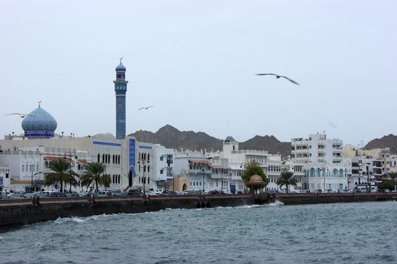 The seafront at Mutrah