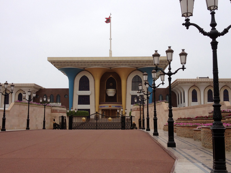 The Sultan's Palace in Muscat