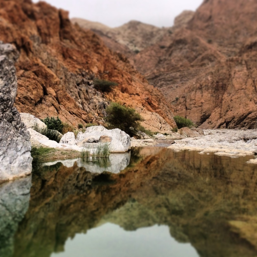 Wadi Mayh given the Instagram treatment