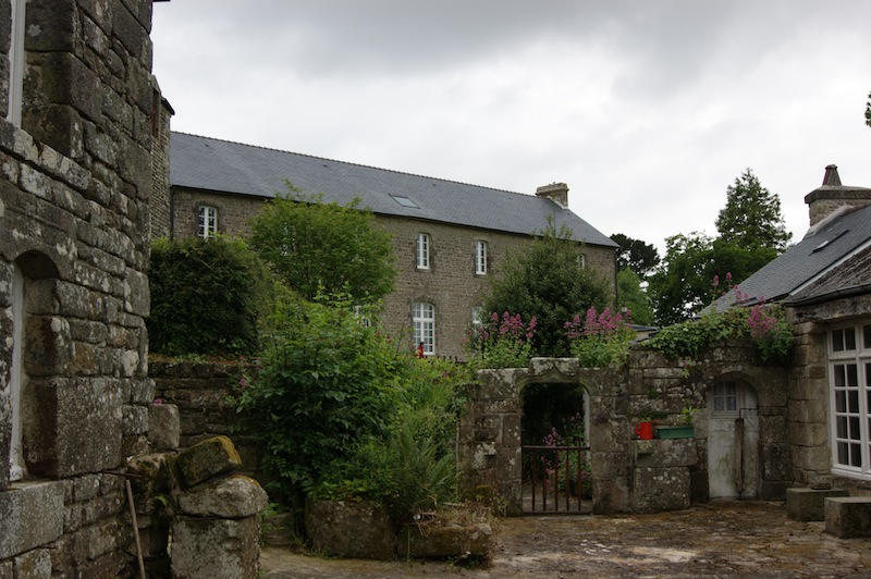 The cottages of Locronan