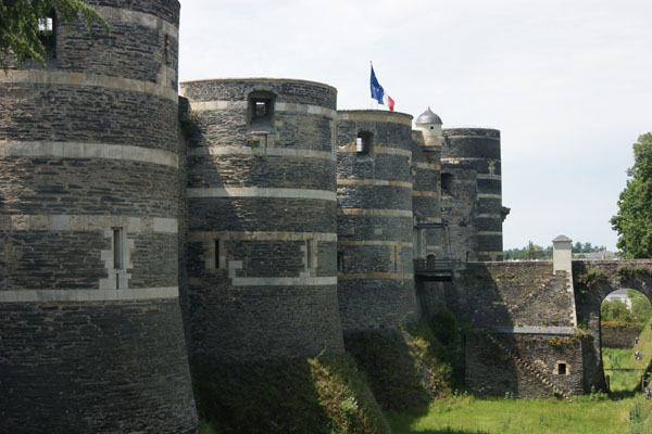 The castle at Angers