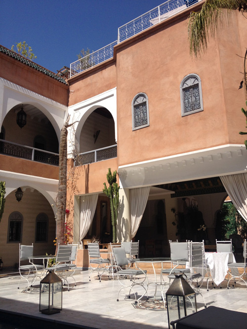 Another view of our riad