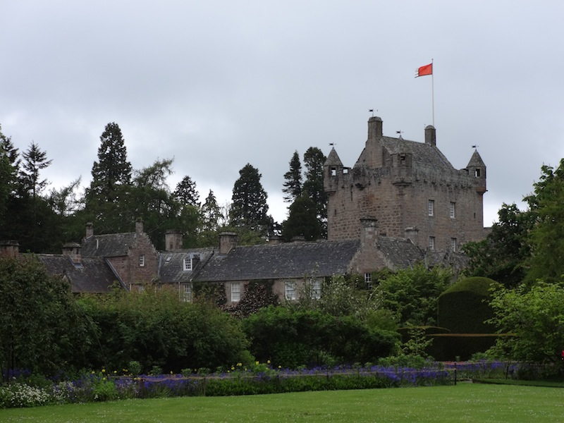 Cawdor from the gardens