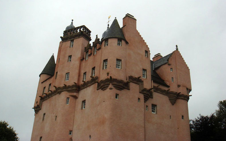 Scottish baronial in all its glory