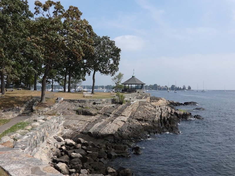 On the water at Larchmont