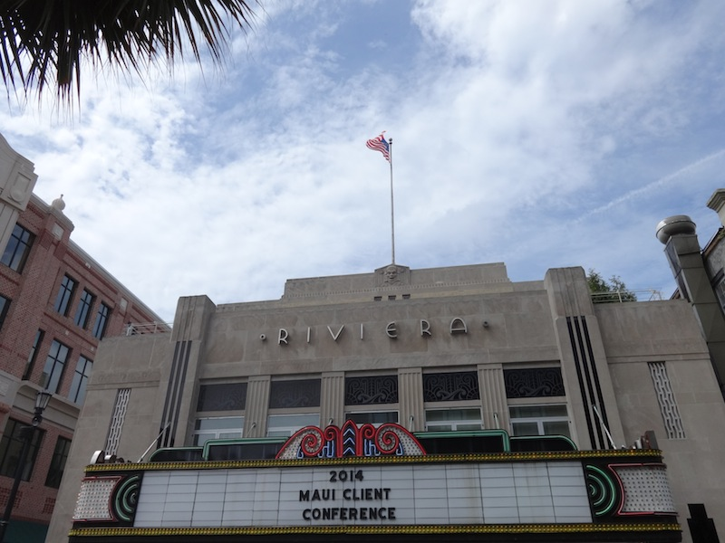 A touch of art deco in Charleston's main shopping street