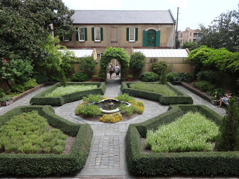 The garden at the Owens-Thomas House