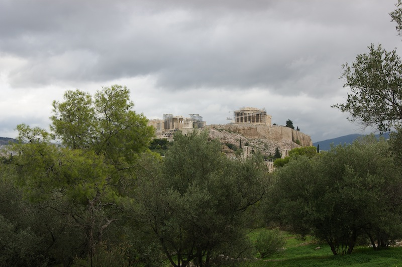 The Acropolis from Filopappos Hill