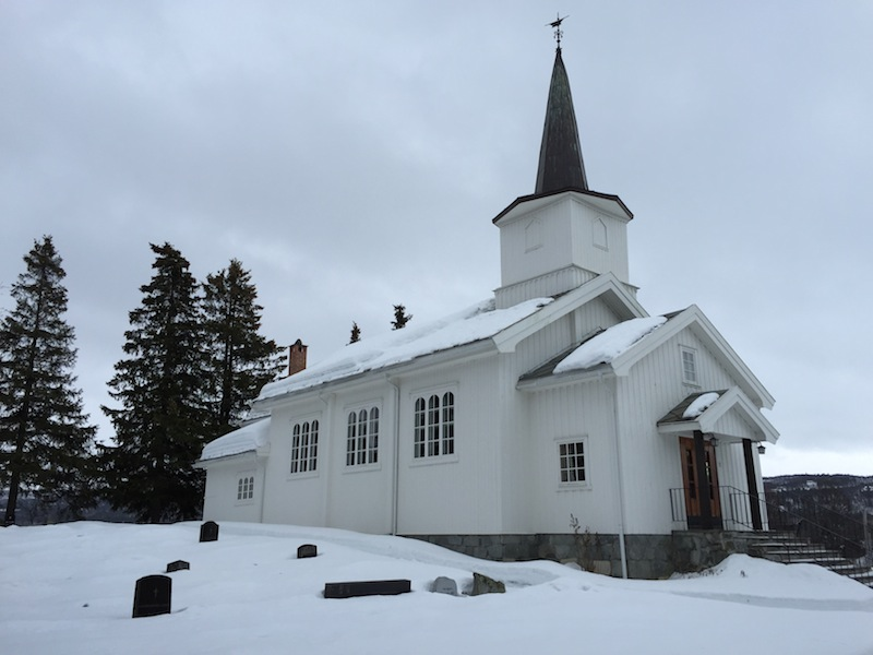 The old village church
