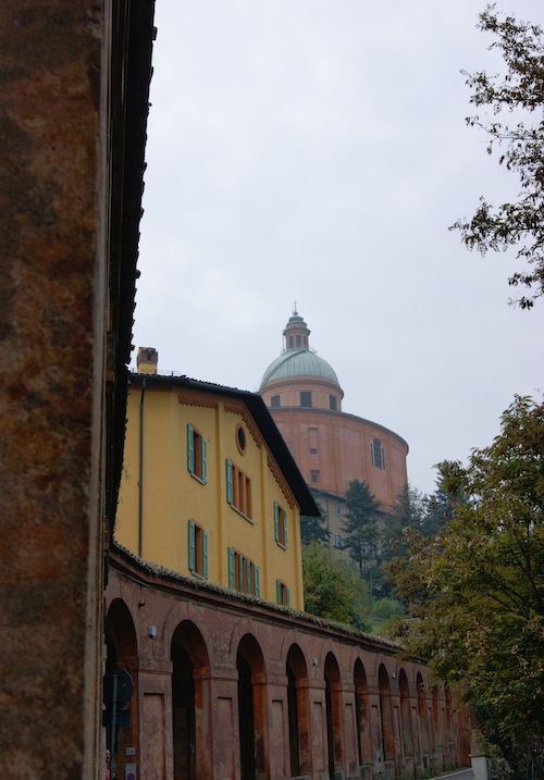 Uphill to the basilica