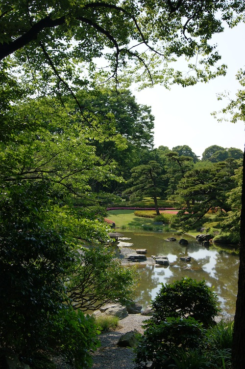 The Imperial Palace gardens