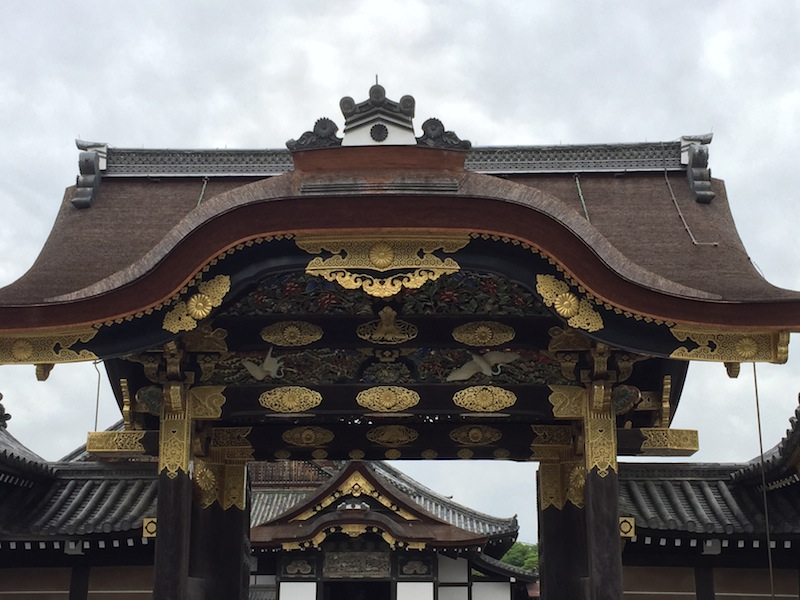 The gates of Nijo Castle