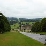 Chatsworth from the cascade