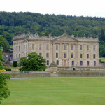 Chatsworth House from the river