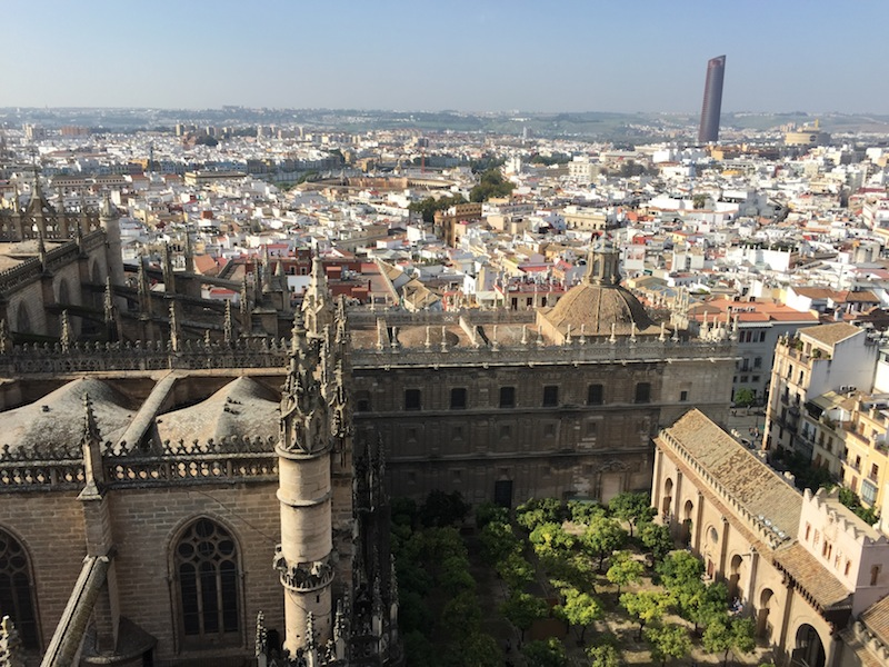 From the top of La Giralda