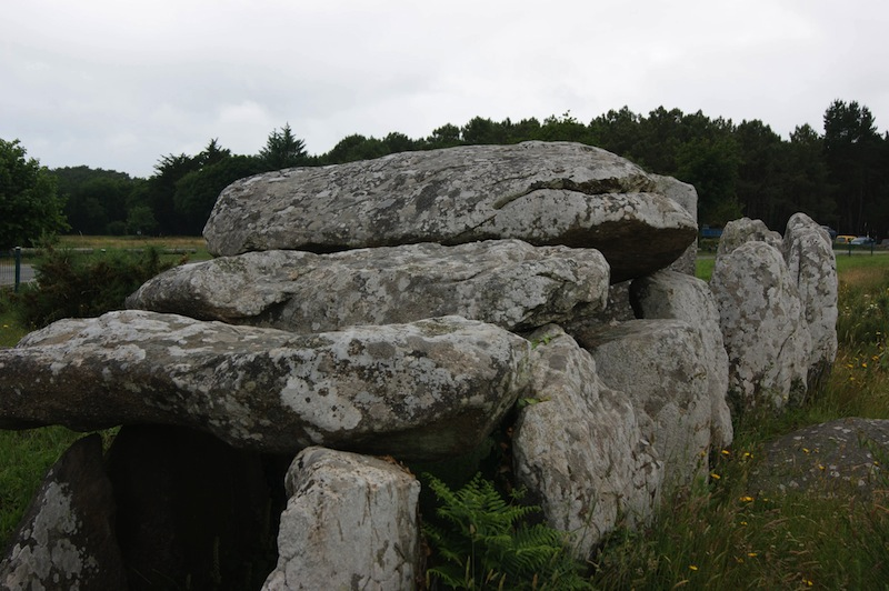One of the burial sites