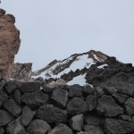 The very top of Teide - but unreachable