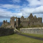 The ruins of Dunluce