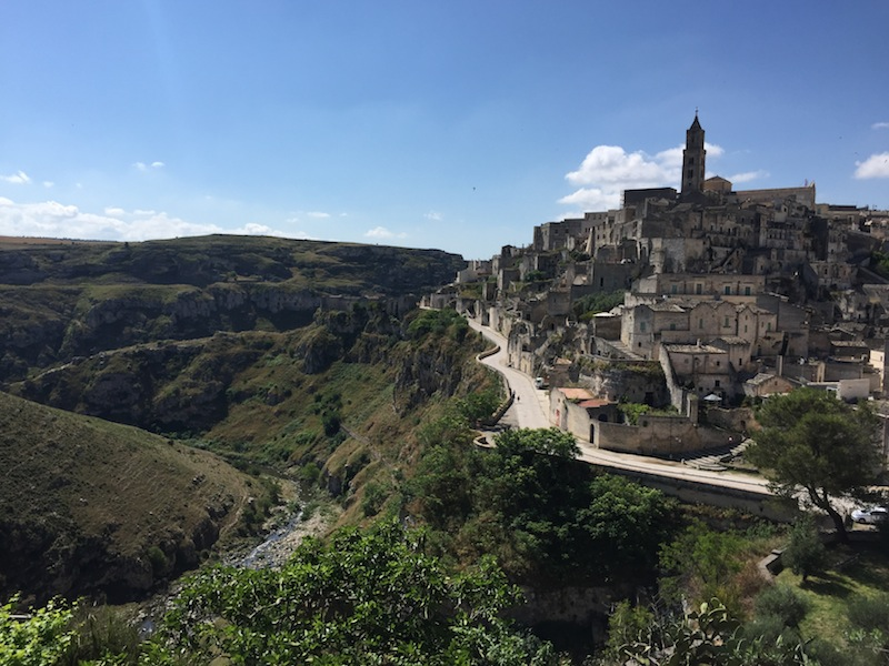 Matera and the gorge