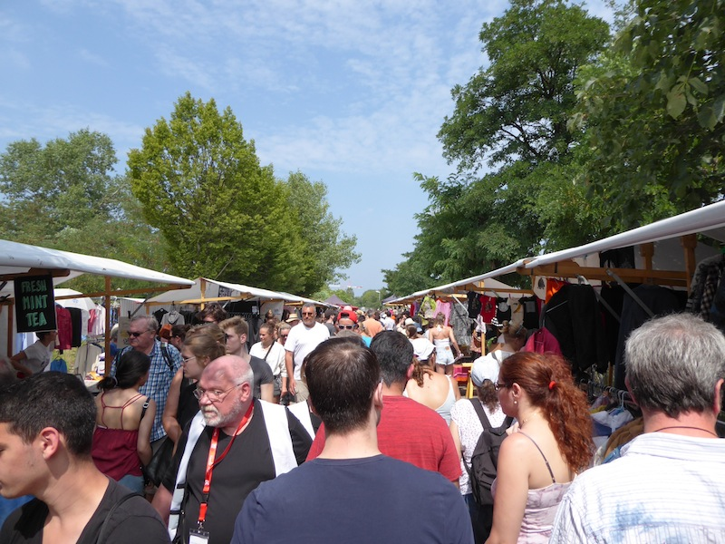 The market at Mauerpark