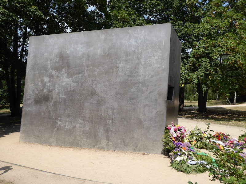 The memorial to gay victims of the Nazi regime