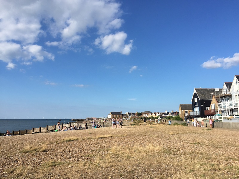 Whitstable's west beach