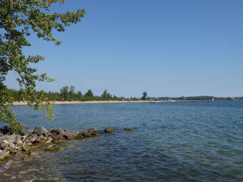 One of the islands' many beaches