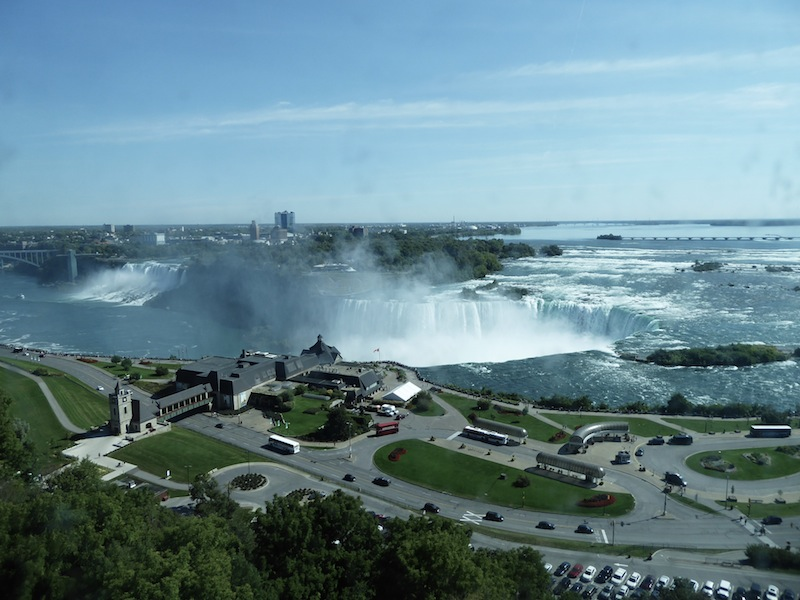 The falls from our hotel bedroom