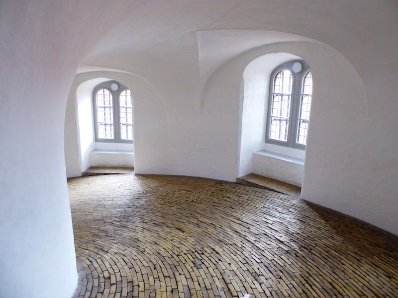 Climbing up the Round Tower