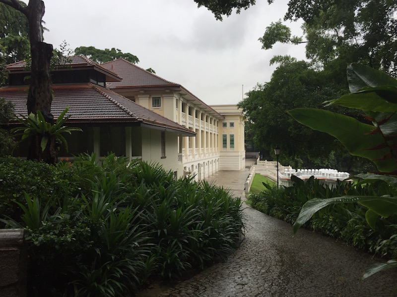 Colonial splendour in Fort Canning Park
