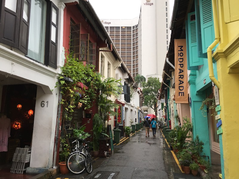 The Arab Street district