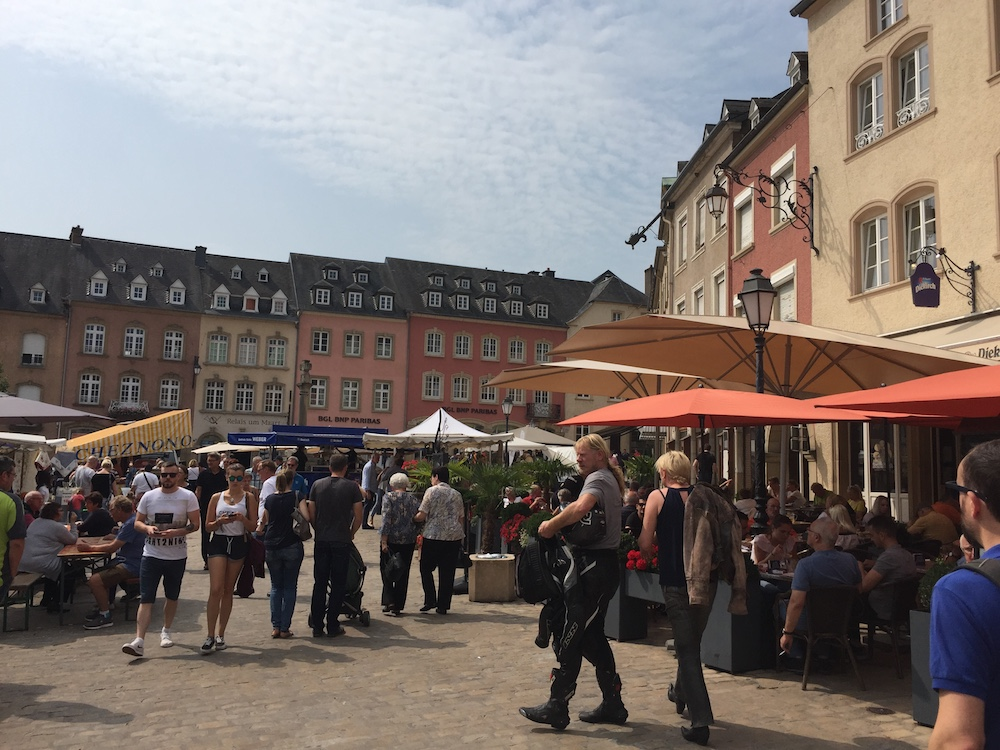 The main square of Echternach