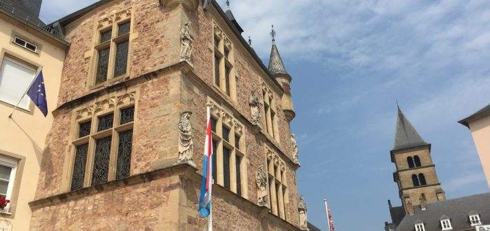 Echternach's ancient courthouse