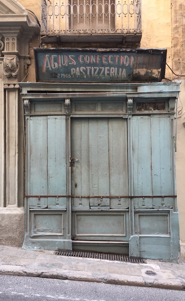 One of those old Valletta shopfronts