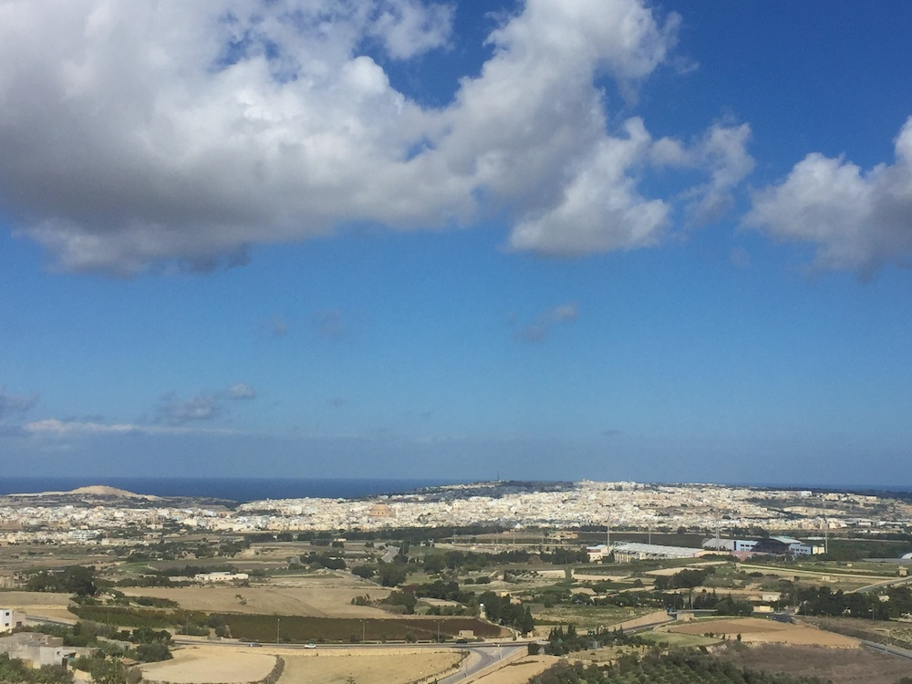 The views from Mdina