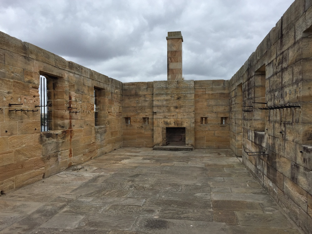 Old convict settlement buildings on Cockatoo Island
